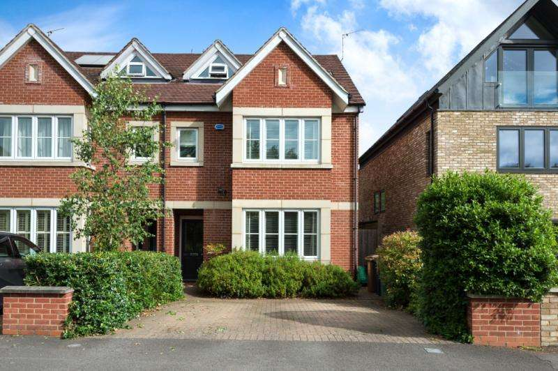 5 Bedrooms Semi Detached House for sale in Blandford Avenue, Oxford