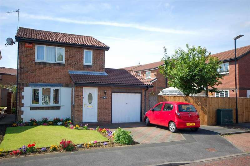 3 Bedrooms Detached House for sale in Gorleston Way, Blakeney Wood Sunderland