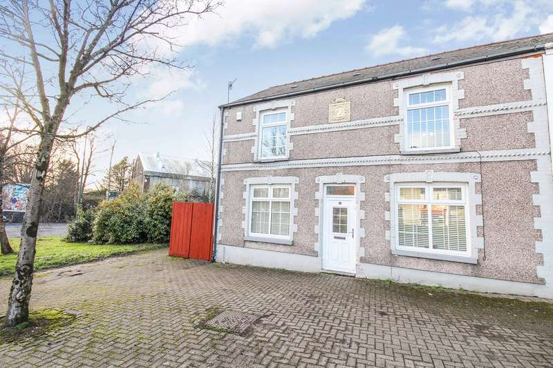 3 Bedrooms Semi Detached House for sale in Blaina Road, Brynmawr, Ebbw Vale, NP23