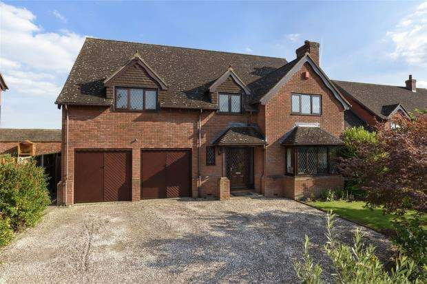 5 Bedrooms Detached House for sale in Limes Paddock, Dorrington, Shrewsbury