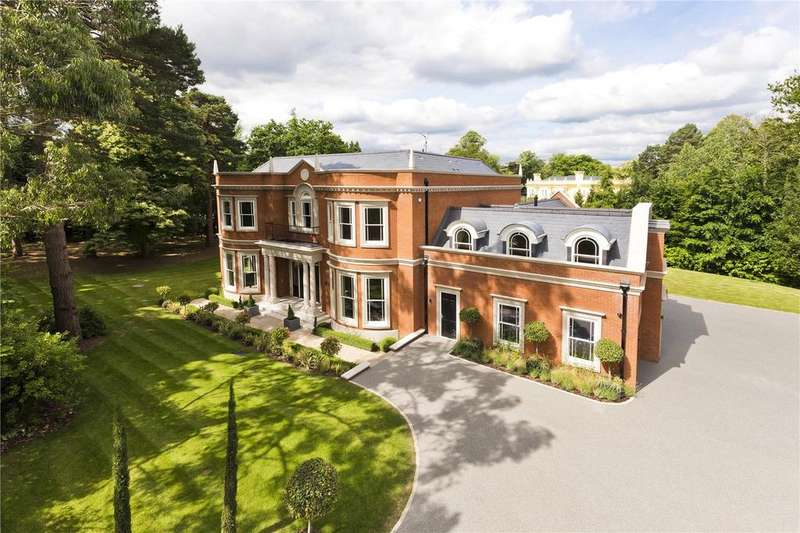 7 Bedrooms Detached House for sale in Cavendish Road, St George's Hill, Weybridge, Surrey, KT13