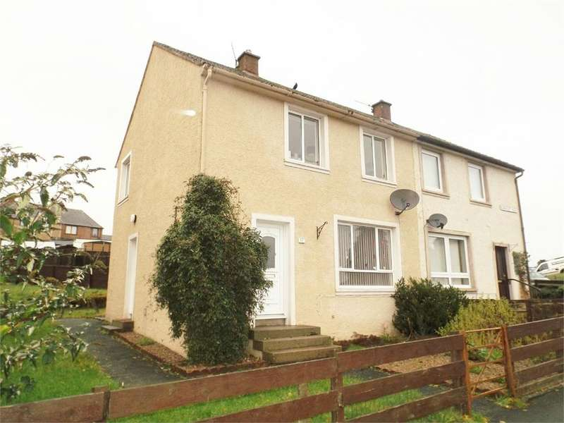 2 Bedrooms Semi Detached House for sale in Burnfoot Road, Hawick, Roxburghshire