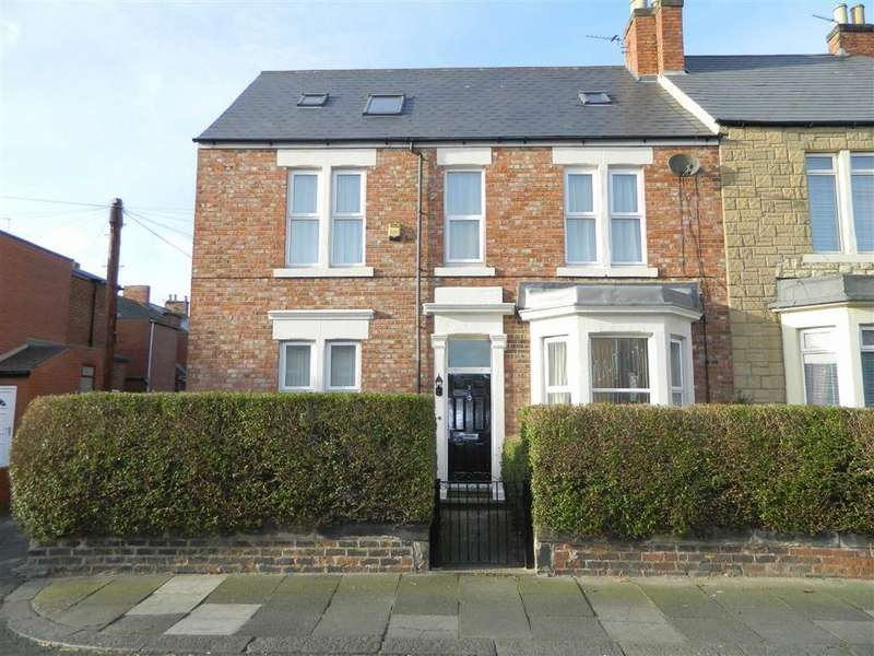 4 Bedrooms Terraced House for sale in Lovaine Place West, North Shields, Tyne And Wear, NE29