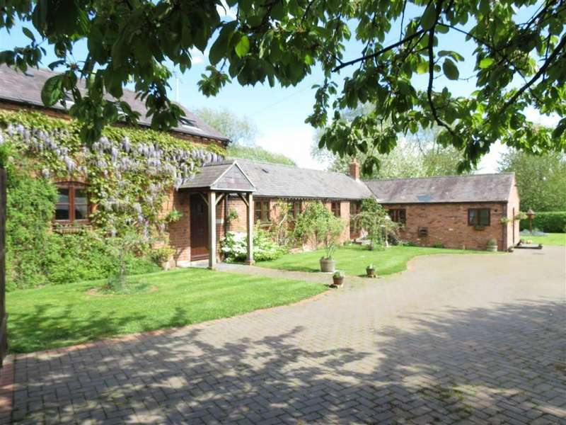 5 Bedrooms Detached House for sale in Kinnerley, Near Shrewsbury, Shropshire