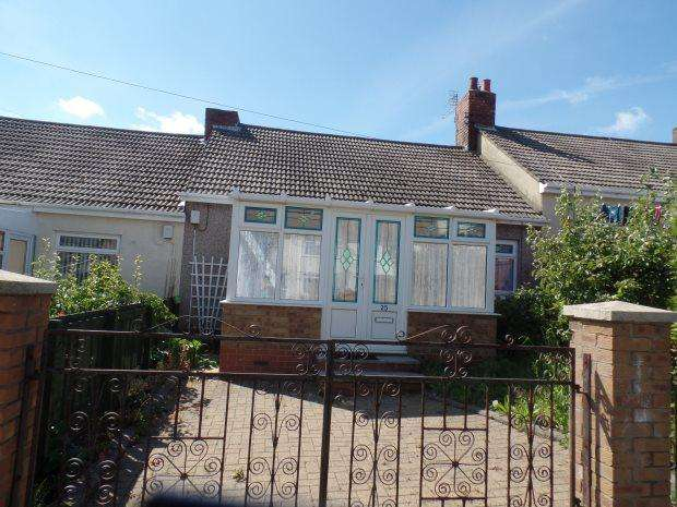 2 Bedrooms Terraced Bungalow for sale in NEWCASTLE AVENUE, HORDEN, PETERLEE AREA VILLAGES