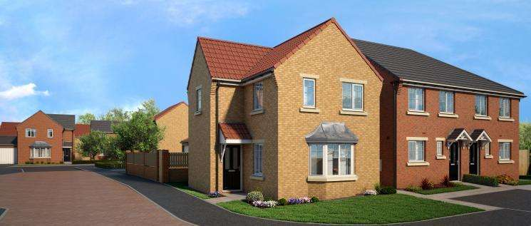 3 Bedrooms Detached House for sale in Thornvale, Spennymoor