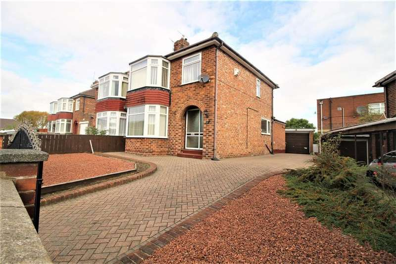 3 Bedrooms Semi Detached House for sale in Green Lane, Thornaby, Stockton-On-Tees