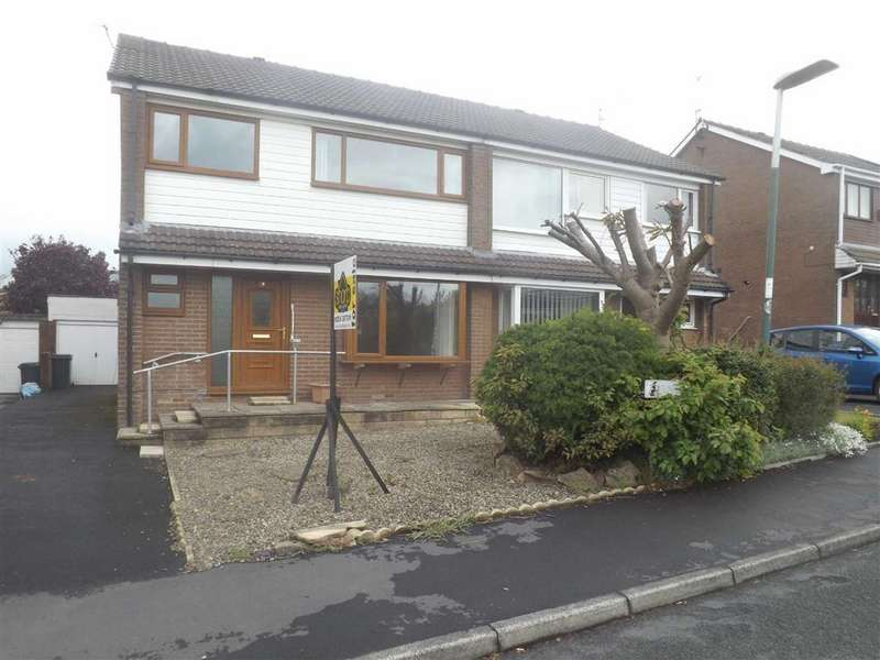 4 Bedrooms Semi Detached House for sale in Fernlea Drive, Clayton Le Moors