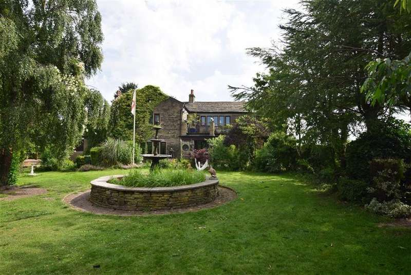6 Bedrooms Equestrian Facility Character Property for sale in Woodnook, Meltham, Holmfirth, HD9