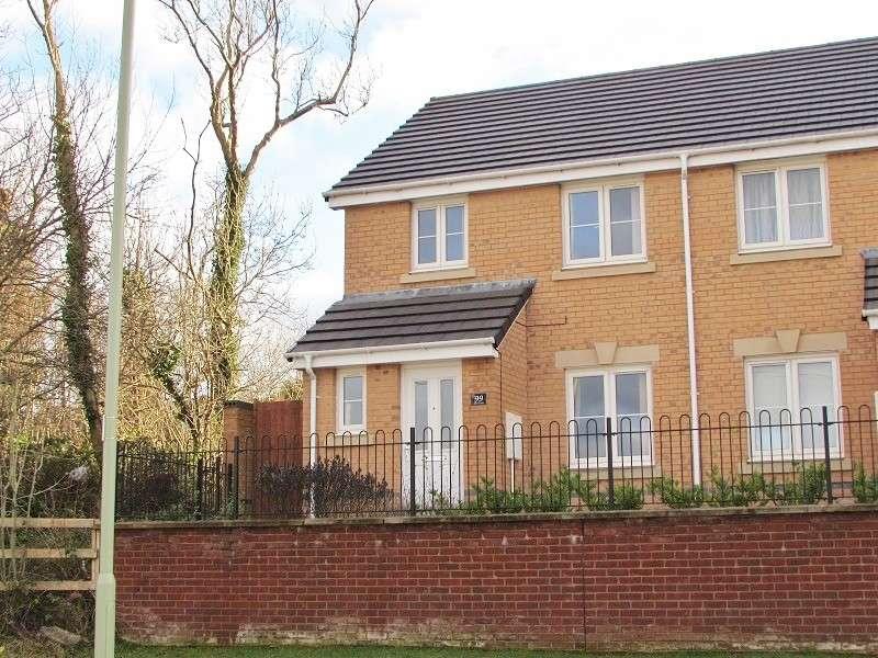 3 Bedrooms Semi Detached House for sale in Ffordd Y Dolau , Llanharan, Pontyclun. CF72 9ZD