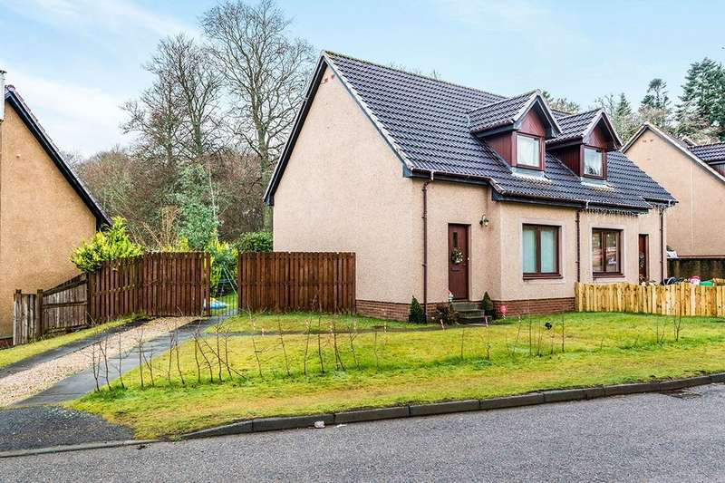 2 Bedrooms Semi Detached House for sale in Birch Drive, Maryburgh, Dingwall, IV7