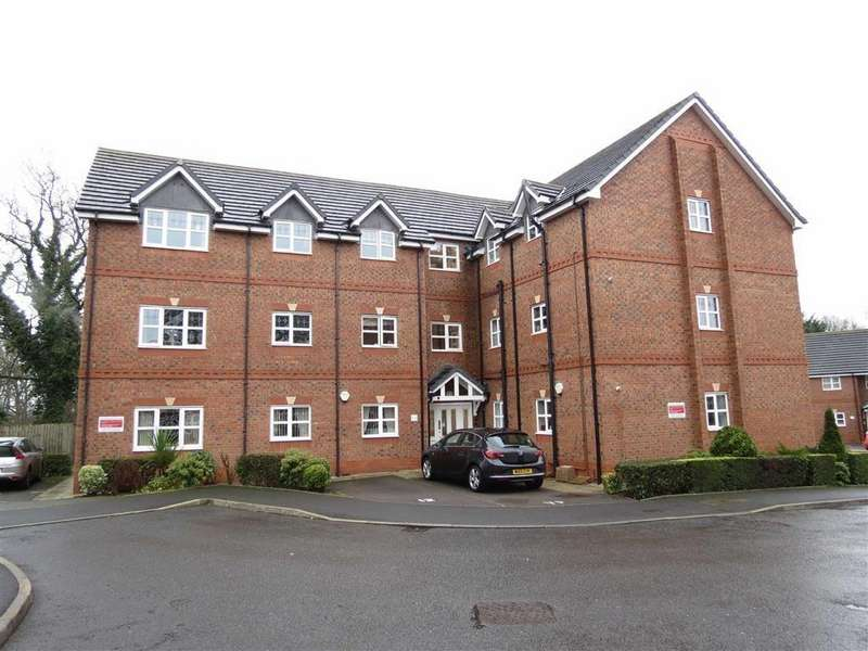 2 Bedrooms Apartment Flat for sale in Battlefield Court, Off Shillingston Drive, Shrewsbury, Shropshire