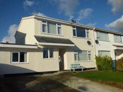 3 Bedrooms Semi Detached House for sale in Cae Cali, Brynteg, Benllech, Anglesey, LL78