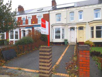 4 Bedrooms Terraced House for sale in Bishopton Road, Stockton-On-Tees, .