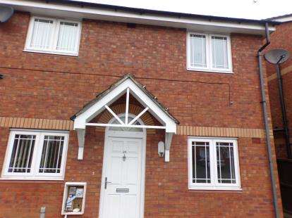 2 Bedrooms Flat for sale in Apple Blossom Grove, Cadishead, Manchester, Greater Manchester