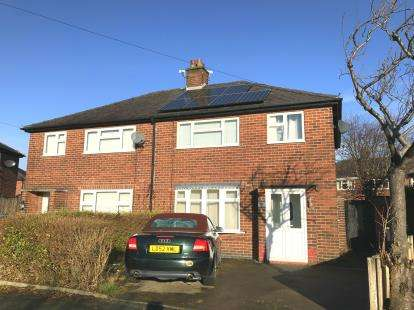 3 Bedrooms Semi Detached House for sale in Boyle Avenue, Warrington, Cheshire