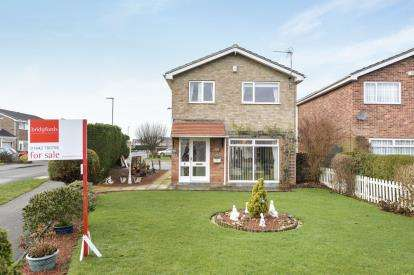 3 Bedrooms Detached House for sale in Debruse Avenue, Yarm, Stockton On Tees