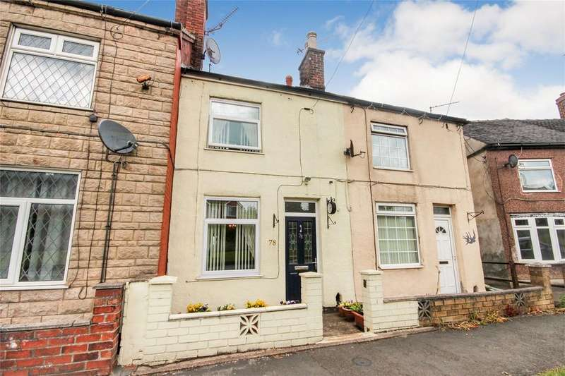 2 Bedrooms Terraced House for sale in Leek Road, Cheadle, Staffordshire