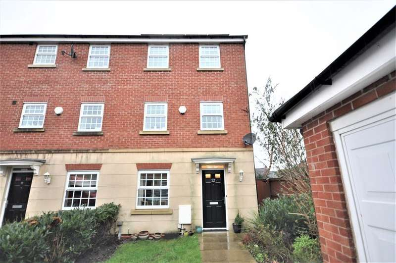 4 Bedrooms Town House for sale in Sutherland Place, Buckshaw Village, Chorley, Lancashire, PR7 7DP