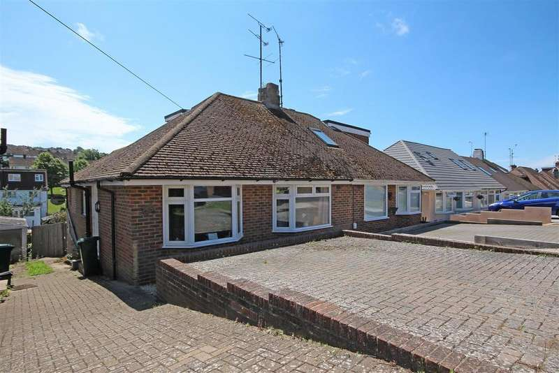 2 Bedrooms Semi Detached Bungalow for sale in Dale Crescent, Patcham, Brighton