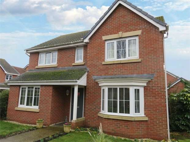 4 Bedrooms Detached House for sale in Augustus Close, North Hykeham, Lincoln