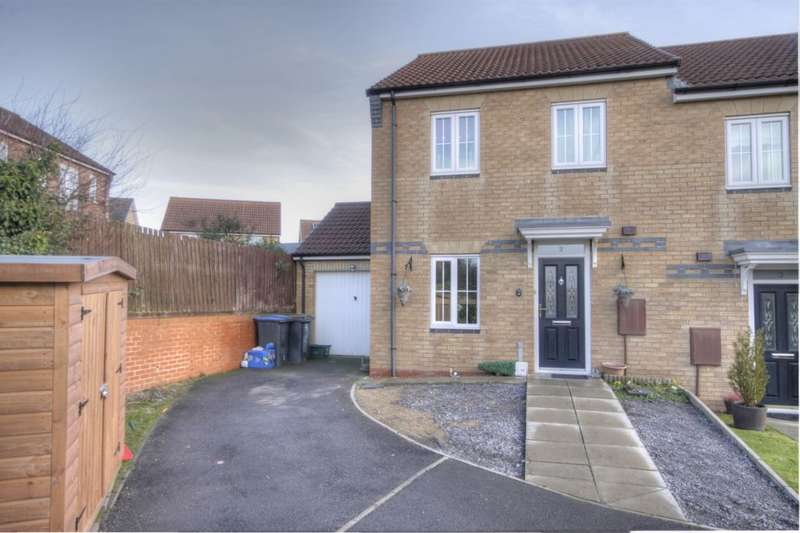 3 Bedrooms Semi Detached House for sale in Horton Close, Delves Lane, Consett, DH8