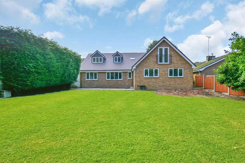 5 Bedrooms Detached House for sale in Magnolia Lodge, Egerton Close, Mansfield