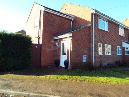 3 Bedrooms Semi Detached House for sale in Beetley, Dereham, Norfolk