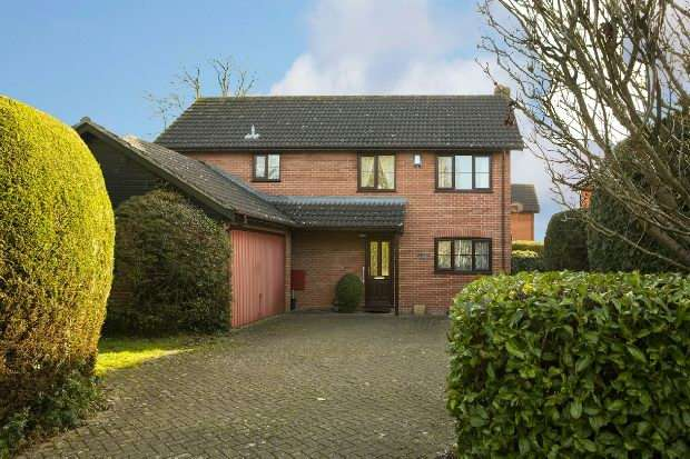 4 Bedrooms Detached House for sale in Red House Close, Lower Earley, Reading