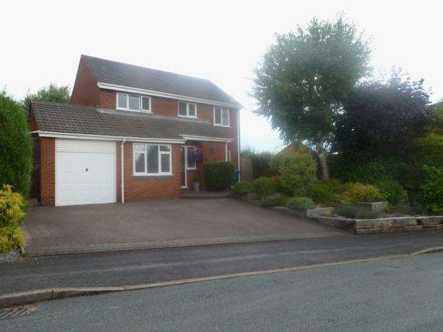 4 Bedrooms Detached House for sale in Bracken Close Lichfield