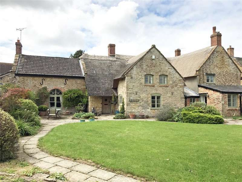 5 Bedrooms Detached House for sale in North Street, Haselbury Plucknett, Somerset
