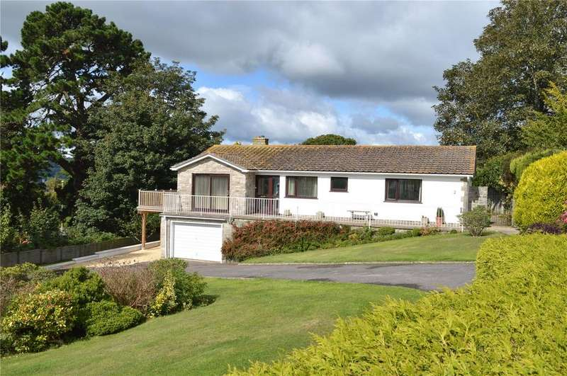 3 Bedrooms Detached Bungalow for sale in Overton Close, Timber Hill, Lyme Regis, Dorset