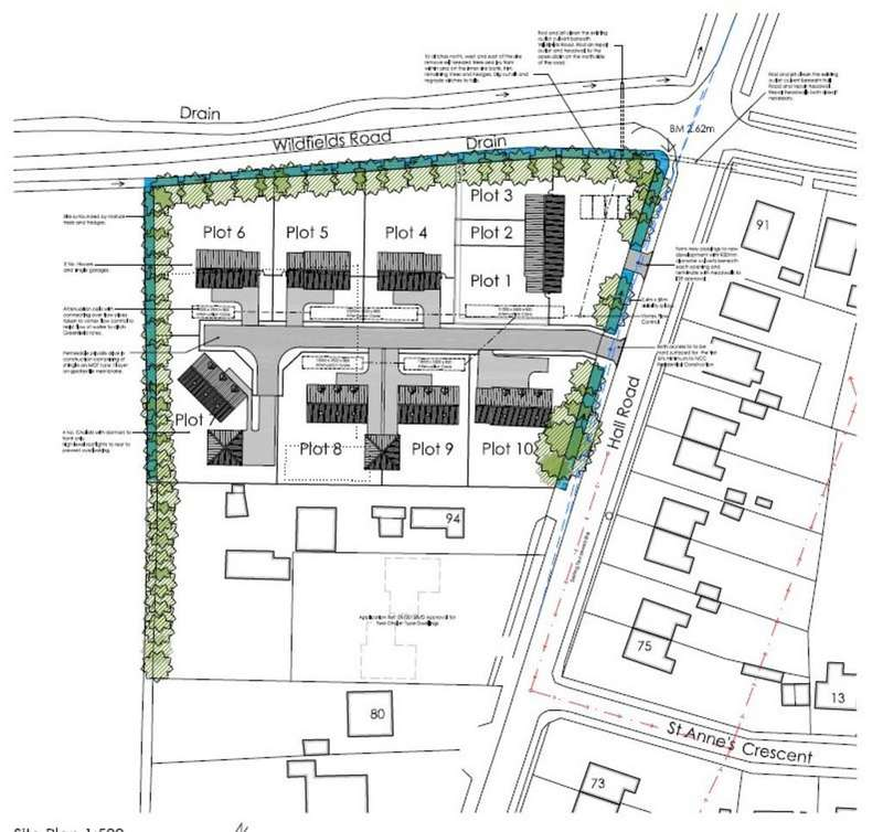 Land Commercial for sale in Residential Development Site, Clenchwarton