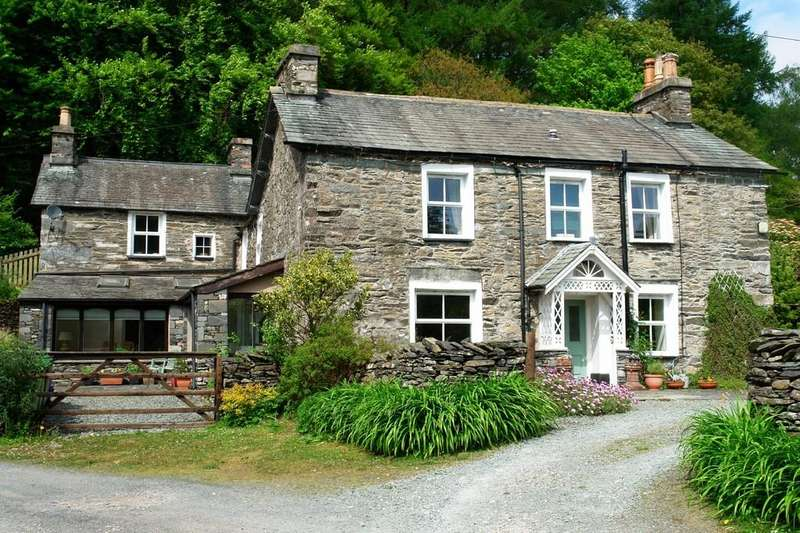 6 Bedrooms Farm House Character Property for sale in Force Mill Farm, Satterthwaite, LA12 8LQ