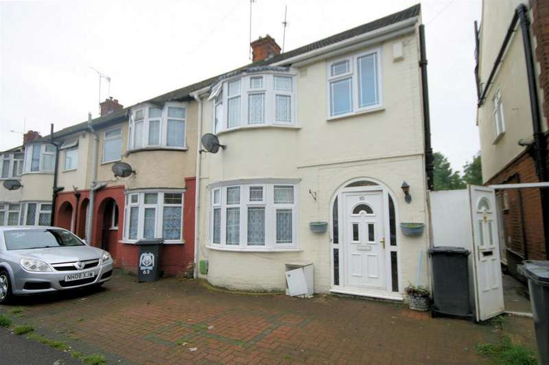 4 Bedrooms End Of Terrace House for sale in Dunstable Rd Area