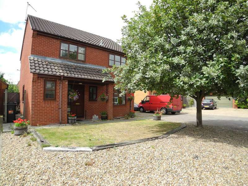 4 Bedrooms Detached House for sale in Poppy Close, Ditchingham, Bungay