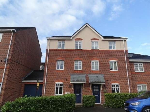 4 Bedrooms End Of Terrace House for sale in Bateman Close, Crewe, Cheshire