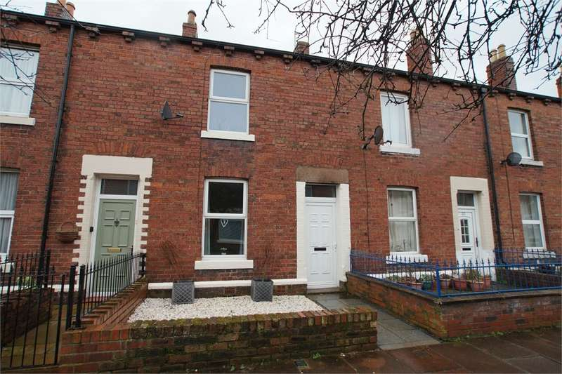 2 Bedrooms Terraced House for sale in CA1 2HS Howe Street, Carlisle, Cumbria