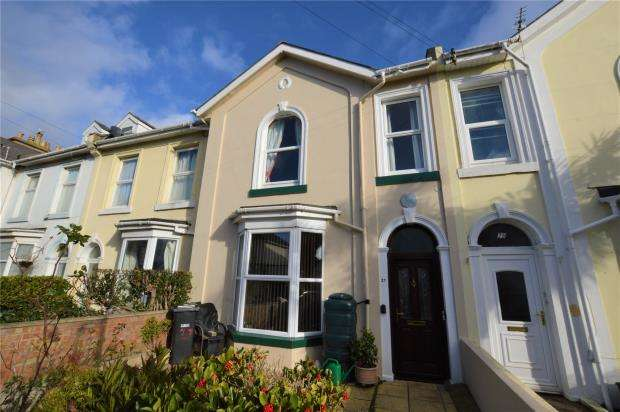 4 Bedrooms Terraced House for sale in Chatsworth Road, Torquay, Devon