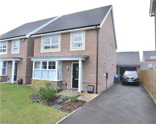 4 Bedrooms Detached House for sale in Bircher Way, Hucclecote, Gloucester, GL3 3QL