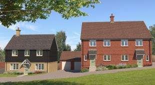 4 Bedrooms Semi Detached House for sale in Oakline, Heathfield, East Sussex