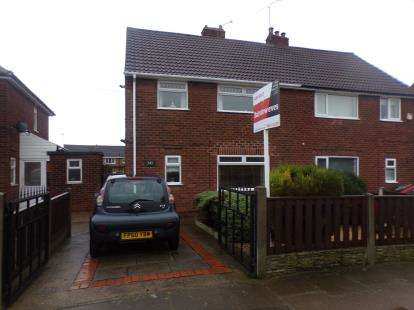 3 Bedrooms Semi Detached House for sale in Beech Tree Avenue, Mansfield Woodhouse, Mansfield, Nottinghamshire