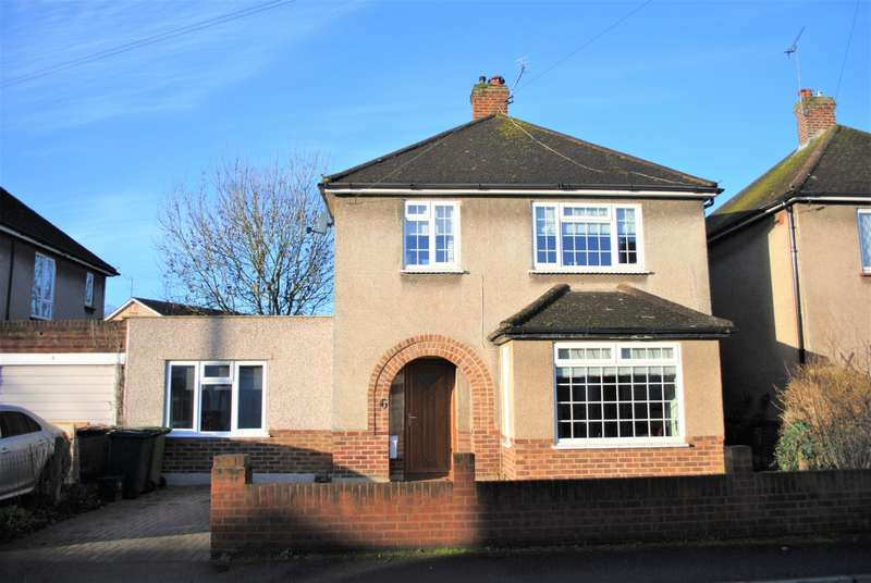 4 Bedrooms Detached House for sale in Limes Close, Ashford, TW15
