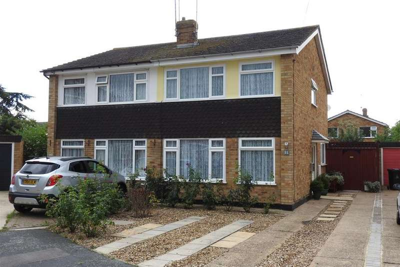 3 Bedrooms Semi Detached House for sale in Worcester Close, Mayland