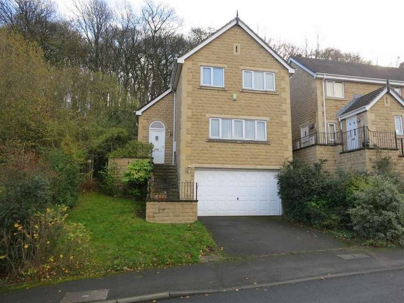3 Bedrooms Detached House for sale in Martin Bank Wood, Almondbury, Huddersfield, HD5