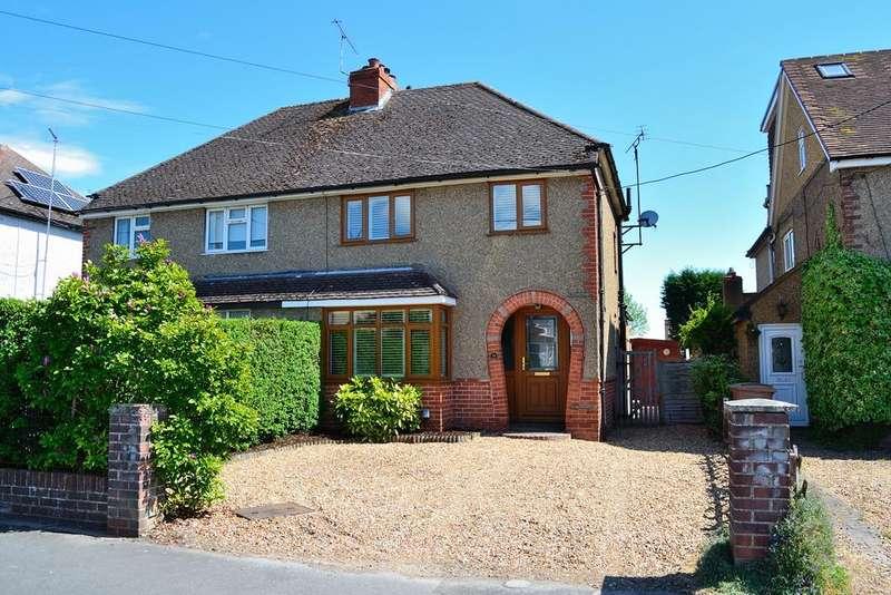 3 Bedrooms Semi Detached House for sale in Hillside Road, Earley, Reading, Berkshire, RG6 7LP