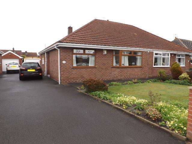 2 Bedrooms Semi Detached Bungalow for sale in Lester Drive Eccleston, St. Helens