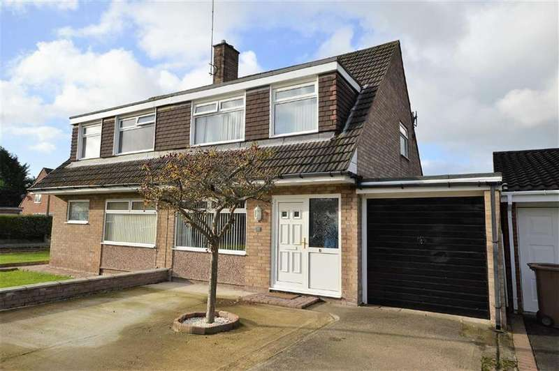 3 Bedrooms Semi Detached House for sale in Rhona Close, CH63