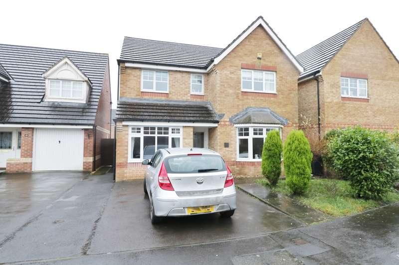 4 Bedrooms Detached House for sale in Viscount Evan Drive, Newport, NP10