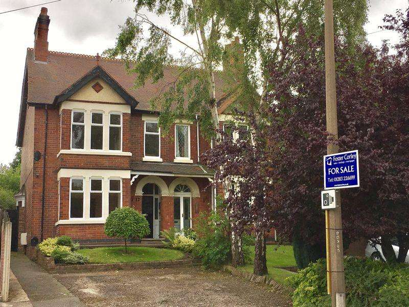 3 Bedrooms Semi Detached House for sale in Hearthcote Road, Swadlincote